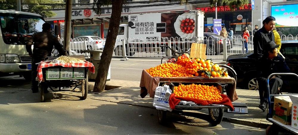 Fruit peddlars
