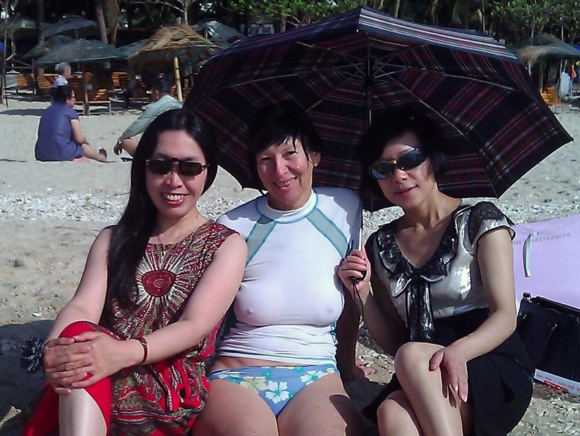 Lanping, Chery and Xiong Jie