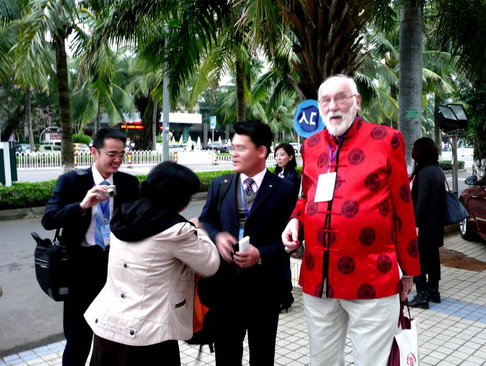 Michael Prosser from Yangzhou University