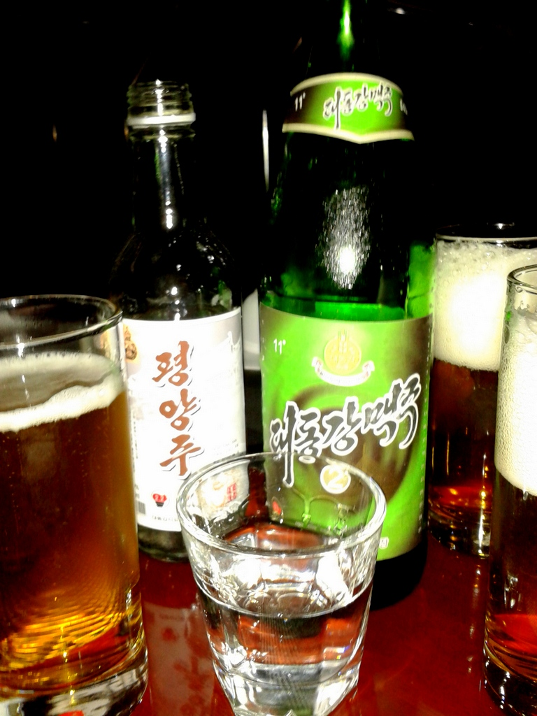 So Ju Sul and Dadong River Beer
