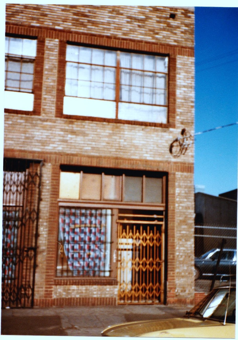 1981 Studio on 765 San Pedro Street, upstairs and facing west
