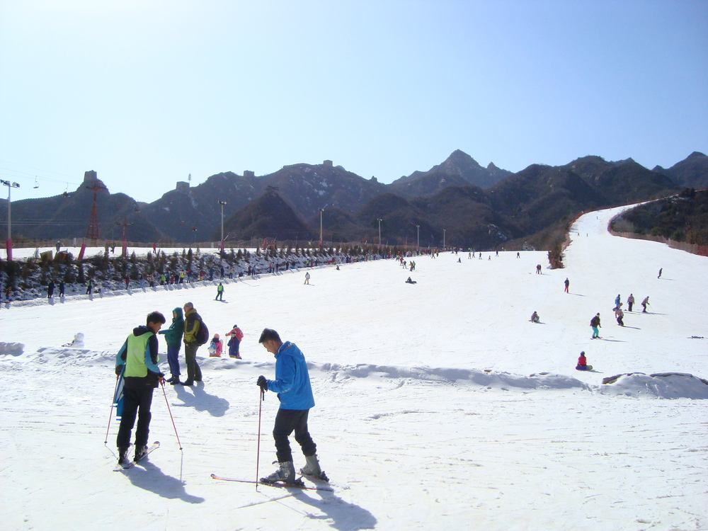 Skiing at Great Wall