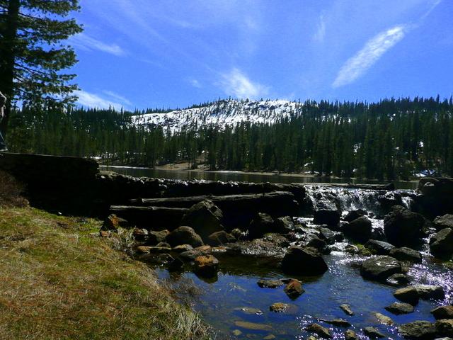 Gumboot Lake, 6050 feet or 1844 meter elevation.