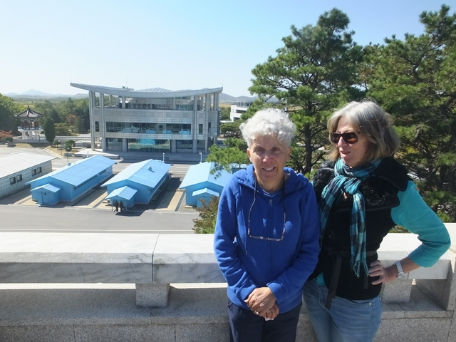 Lindea and Cher at DMZ