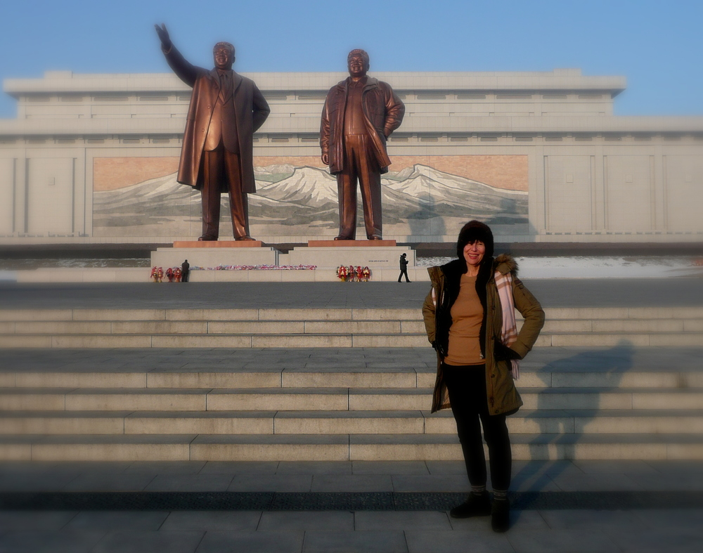 Mansudae Grand Monument of Presidents