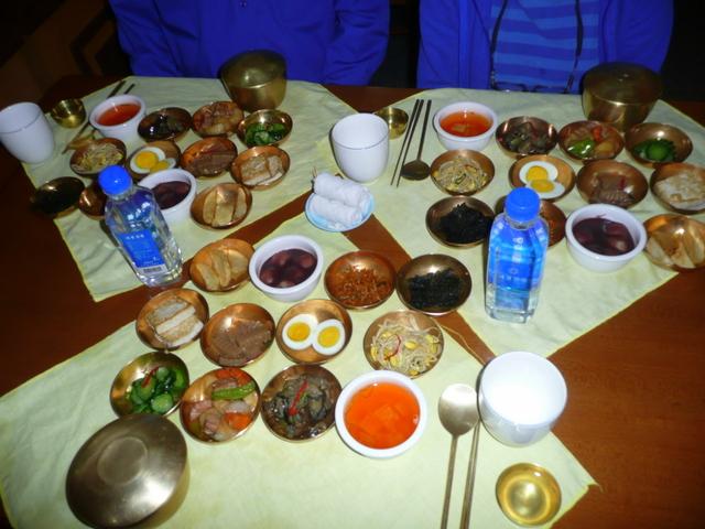 Pansanggi-Korean traditional meal