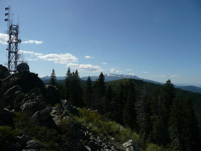 Looking west toward PCT