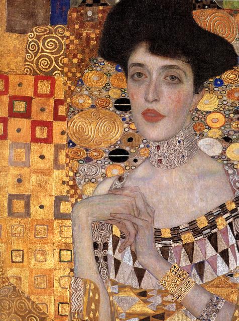 Adele Bloch Bauer Li by Gustav Klimt