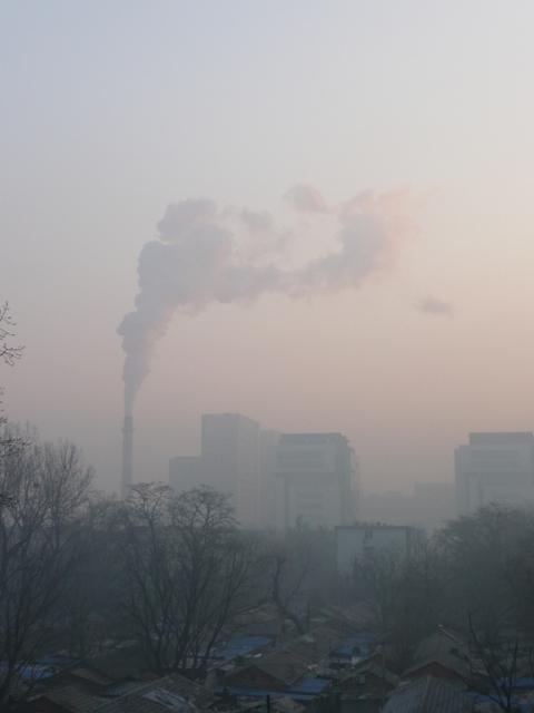 Beijing dismal freezing smog