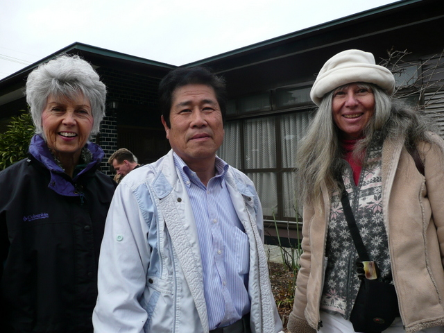 February 2008 Redding Bonsai Club members Diane Twitchell, President, and Cheryl Petty, owner Window Box Bonsai Accents & Art Gallery in Dunsmuir, went on a Bonsai Tour to Japan with Kora Dalager and others from the Bay Area and around the country to view the 82nd National Bonsai Exhibition, the finest and most prestigious bonsai exhibition in the world with the longest history. Numerous spectacular private bonsai gardens were also visited.