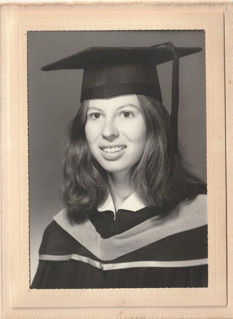 Cheryl West graduation 1971 UCLA