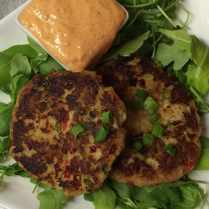 Crab Cakes with Chipotle Aioli