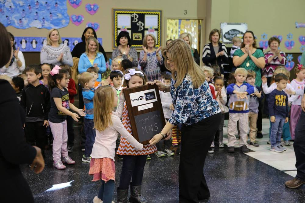 COOL SCHOOL Award: January 2016