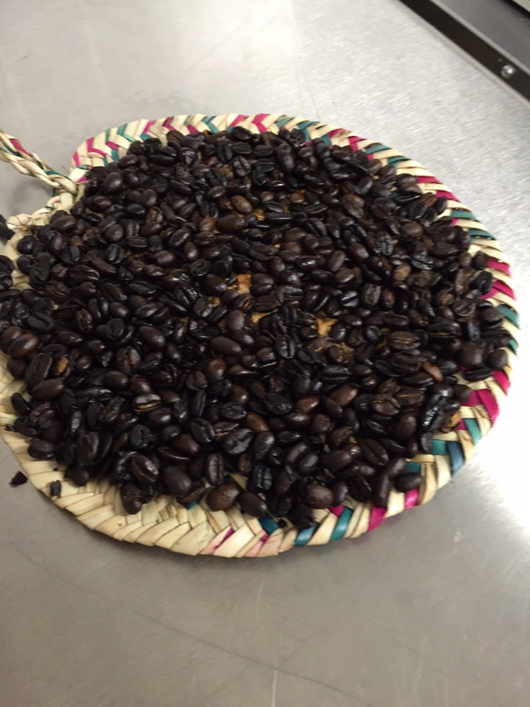 Fresh roasted (in-house) Ethiopian coffee beans from the Yirgacheffe Valley in Ethiopia