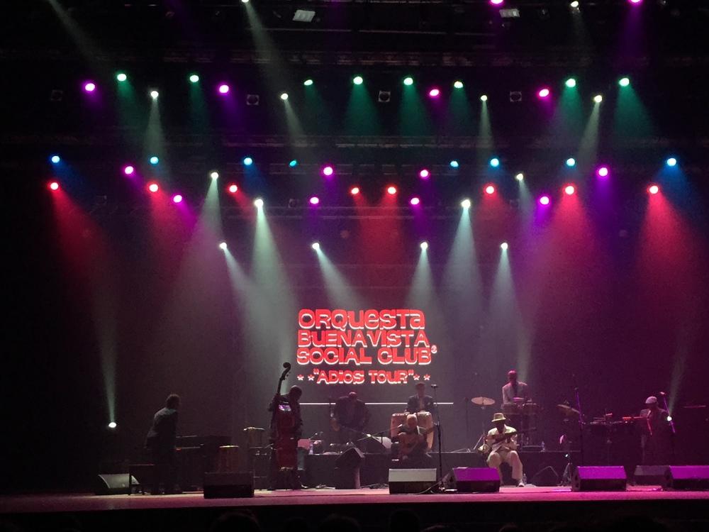 "The Buena Vista Social Club performing for their ""adios tour"""