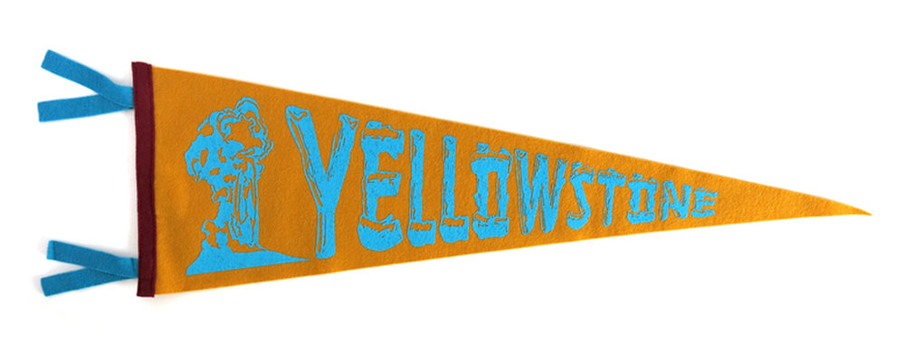 Yellowstone Pennant