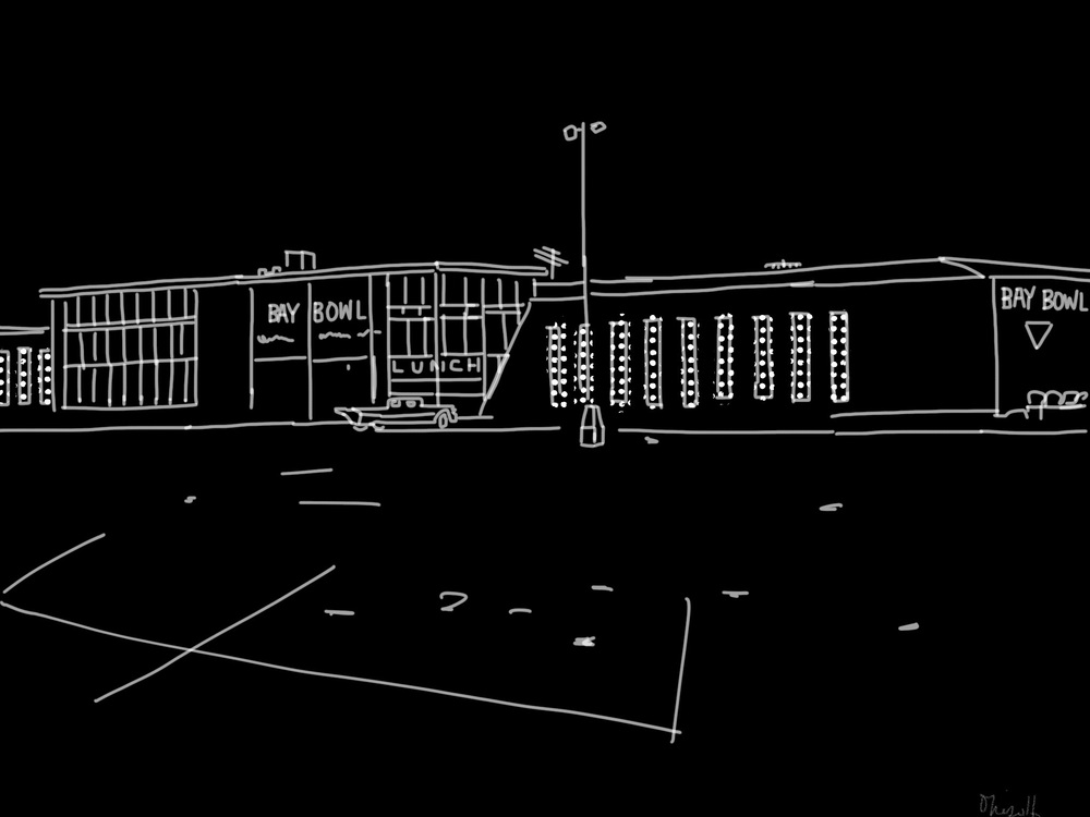 Bay Bowl | Soundview Shopping Center | Digital Drawing
