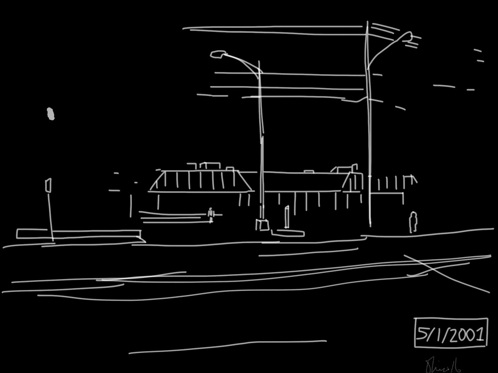 Bohack's | Port Washington Boulevard | Digital Drawing