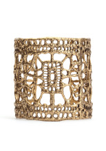 Lucky Brand Antique Gold Cuff