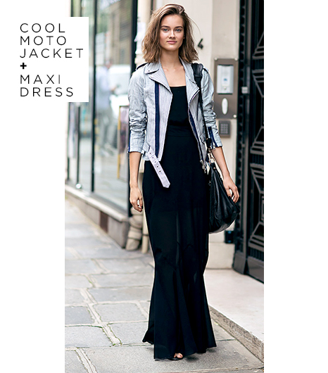 Maxi with Jacket Look