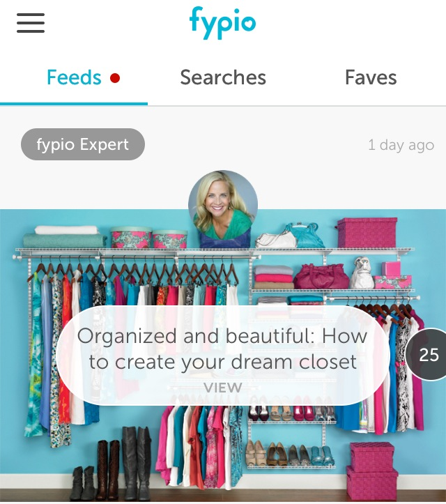 So excited to be named Fypio's Style, Closet, & Shopping Expert!
