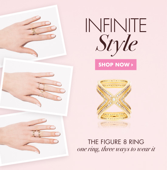 Love this Figure 8 Ring by Henri Bendel, $150