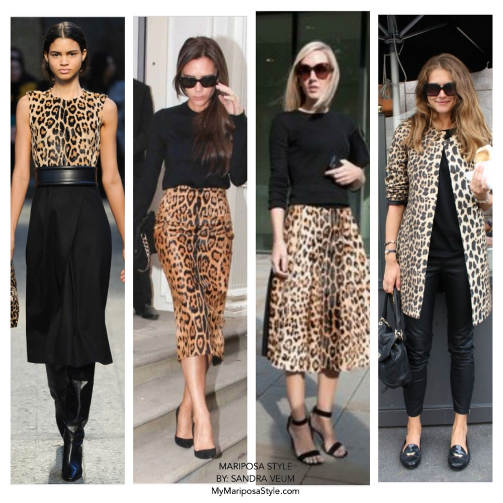 Everyone needs a leopard piece in their wardrobe!