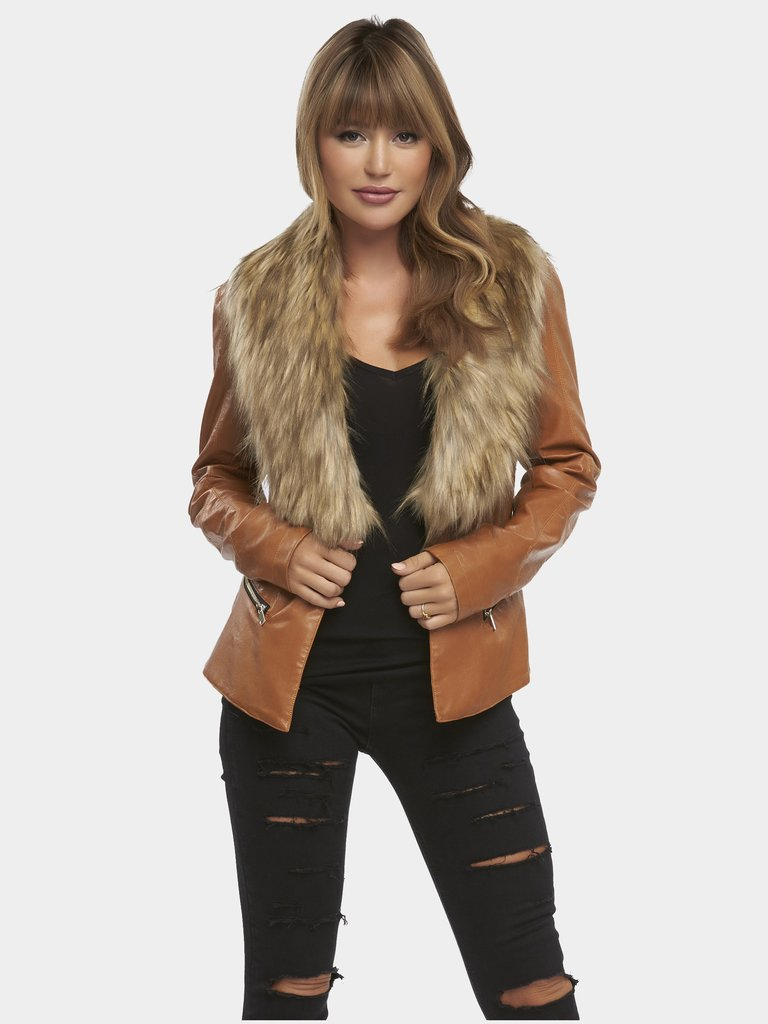 Natasha Fur Jacket... - -Tart Collection- Fur Obsessions Now On Sale $175