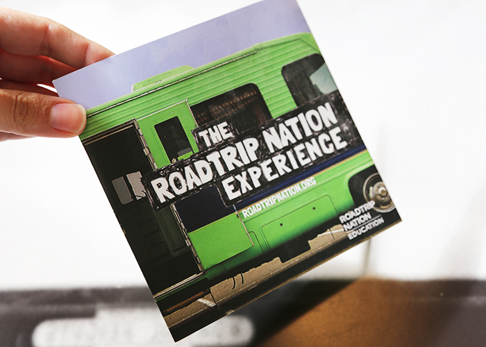 Roadtrip Nation brochure