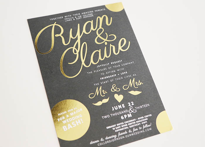 Ryan and Claire Wedding Invitation