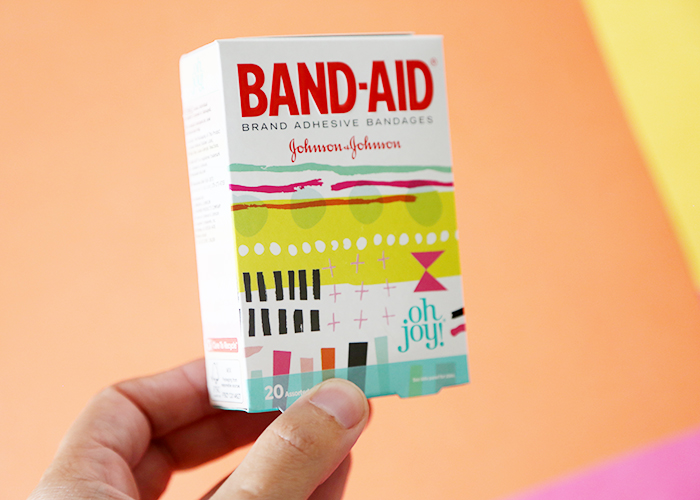 Oh Joy Band-Aid box