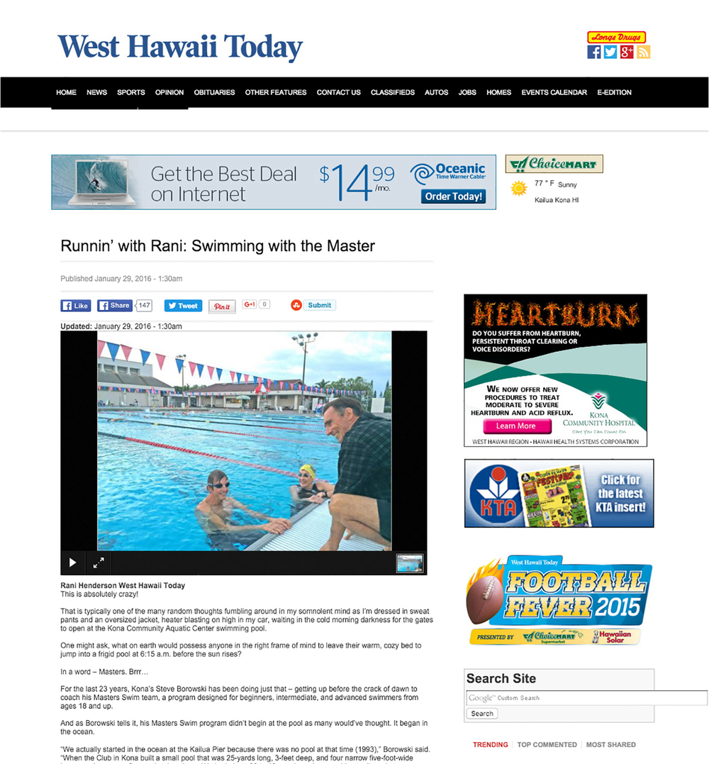 Mahalo for the great article Rani!