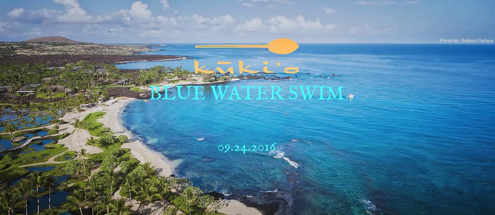 The 2016 Kukio Blue Water Swim is BACK!