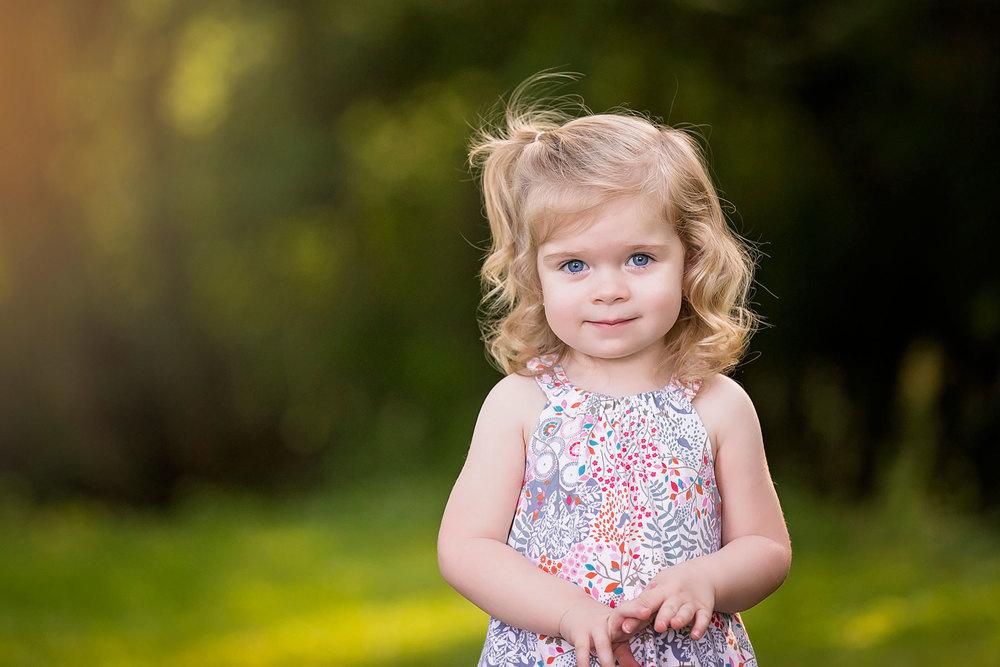 Cutie posing for a portrait