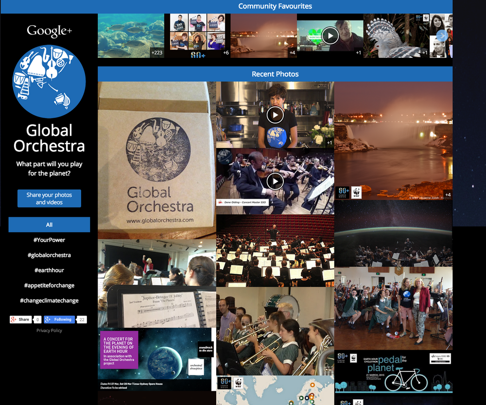 Global Orchestra Media Wall