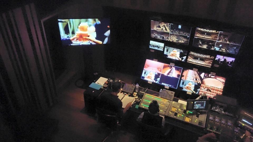Sydney Opera House Recording & Broadcast Mission Control