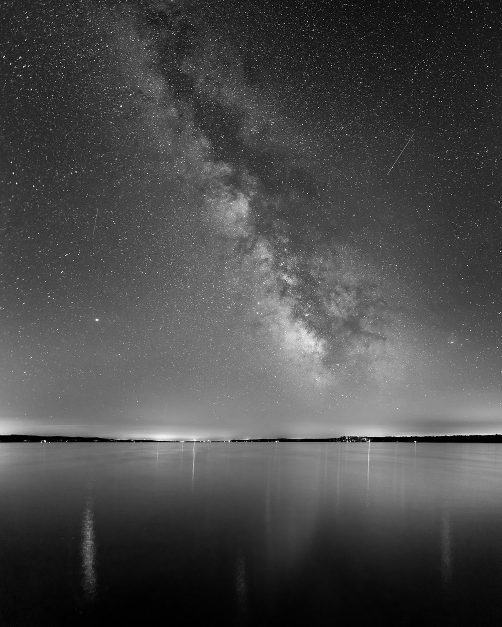 Milky Way Galaxy over Torch Lake
