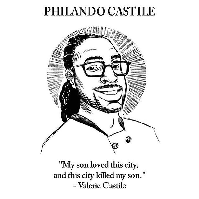 i don't even know what to say. minnesota, my home town, I thought you would do better?? Where is justice?? #justiceforphilandocastile