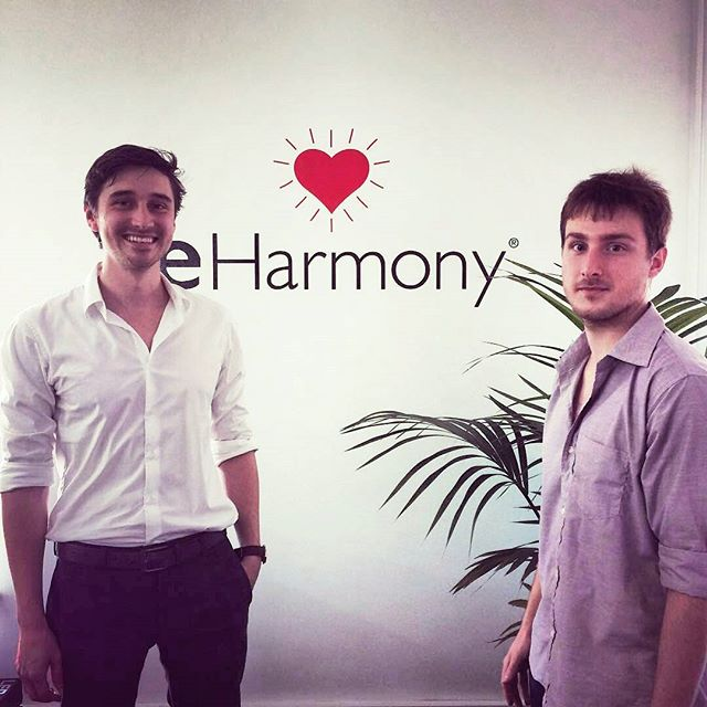 @Regrann from @eharmonyau -  Thanks for dropping by today Karl & Danon! We've been working on an exciting art project with Vaupel Design ✨ Stay tuned for more details next week! @vaupel.co #behindthescenes #eharmony #vaupel #Regrann