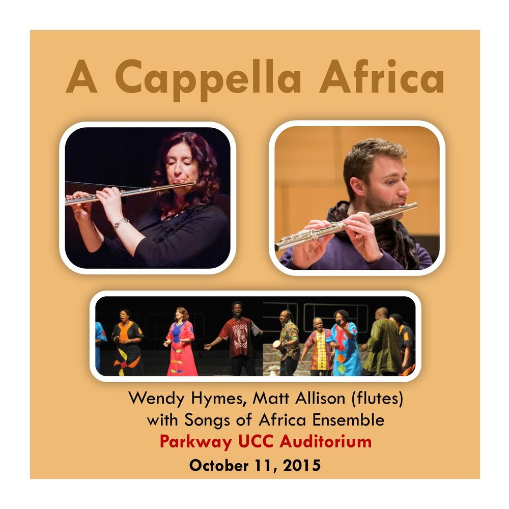 Parkway UCC Auditorium Sunday October 11, 2015, 3:00PM
