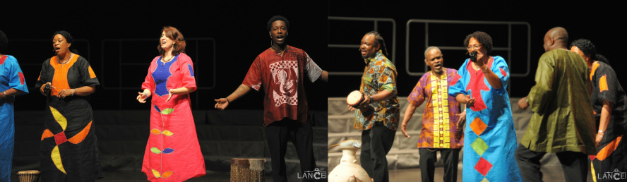 "Songs of Africa Ensemble ""sharing new styles of choral music"""
