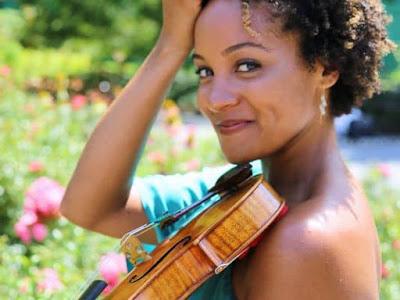 Melissa White, violinist