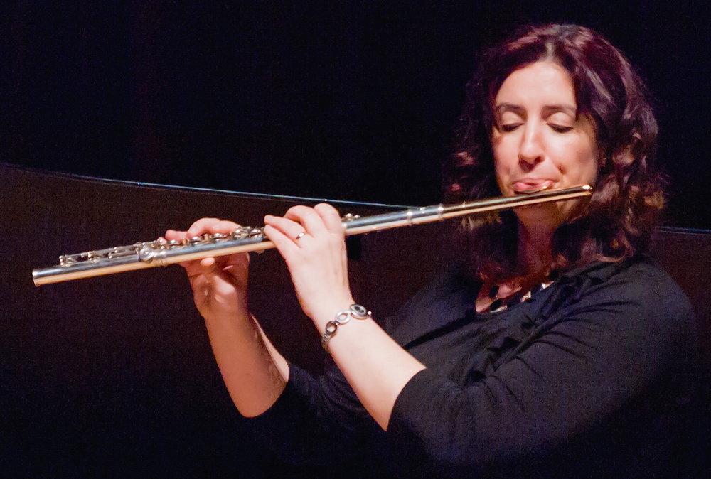 Flutist Wendy Hymes