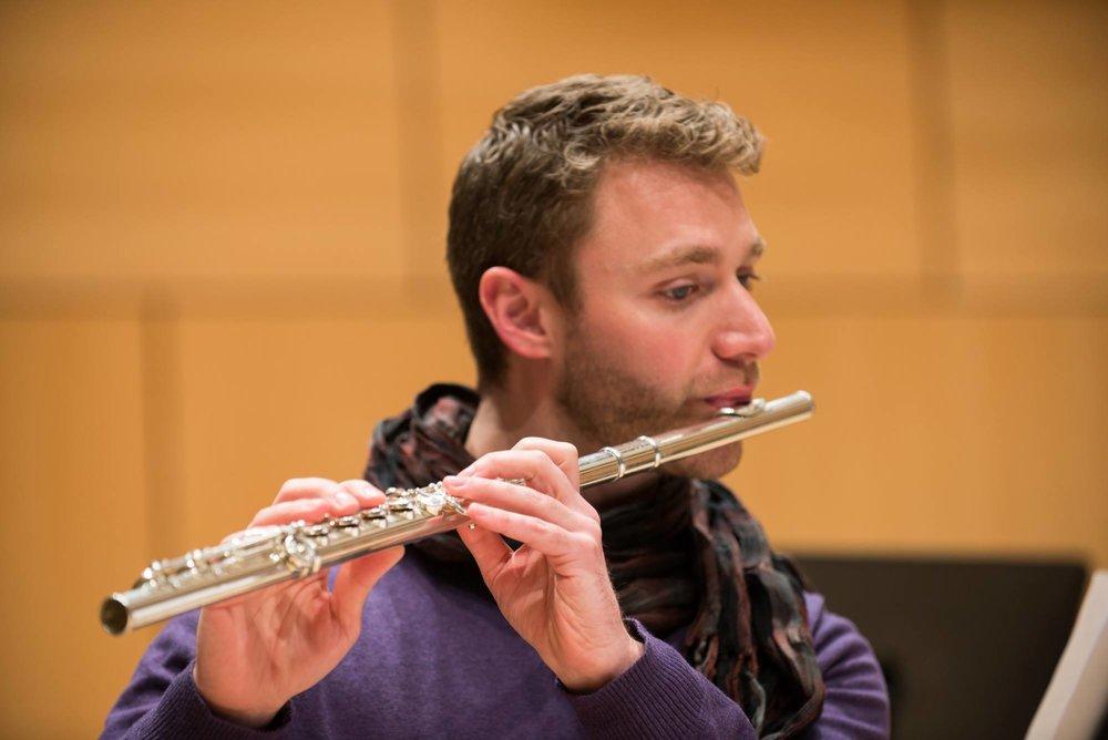 Matt Alison, flutist