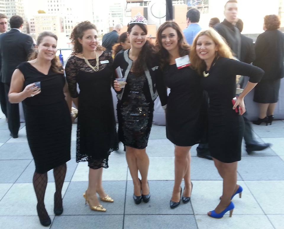 Coincidently all Renaissance girls wore black after my LBD pop up the week before.