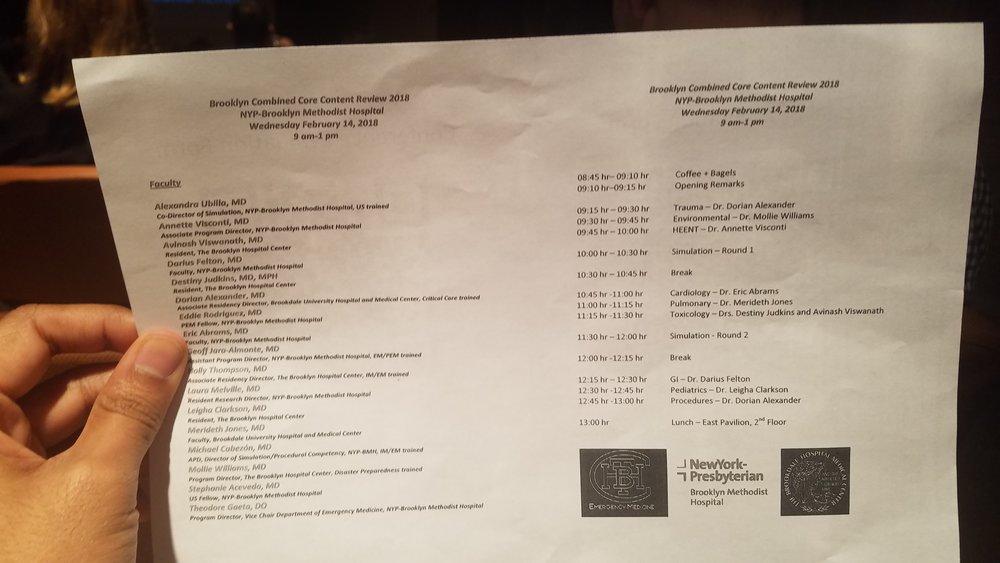le schedule