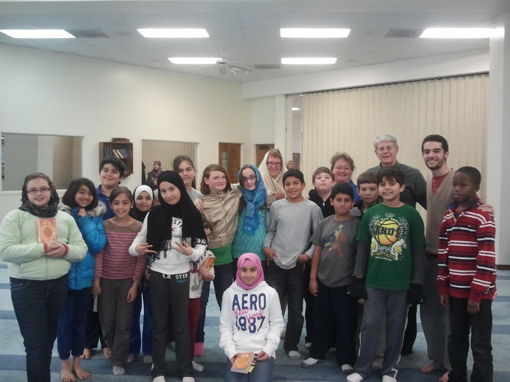 Neighboring Faiths class- Mosque visit