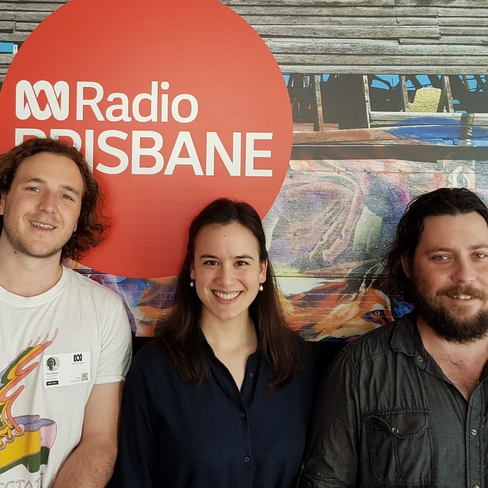Live on ABC Local Brisbane, Oct 2017