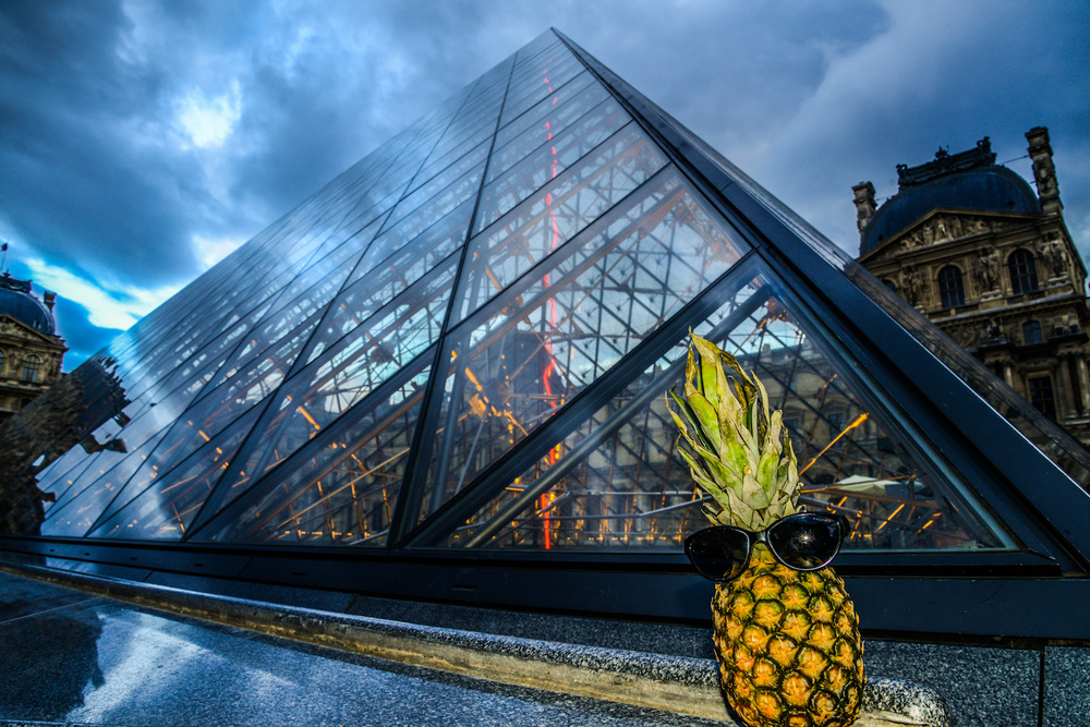 Museum visits and cool photos at the Pyramide du Louvre, which was designed by a Chinese architect and its located in the main courtyard of the Palais du Louvre and serves as the main entrance for the Musée du Louvre.