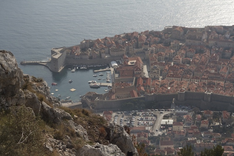 A bird's eye view of Dubrovnik's old town, where one of our new shops will be located.